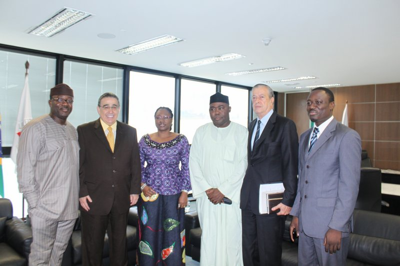 Governor Fayemi and Vice Governor of Minas Gerais -Nigeria-Brazil Business Summit 2011