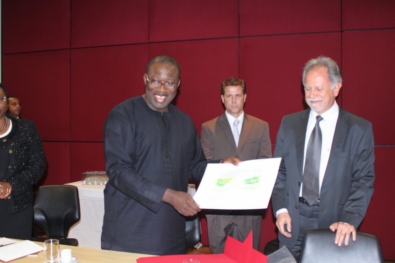 Governor Fayemi - Nigeria-Brazil Business Summit 2011